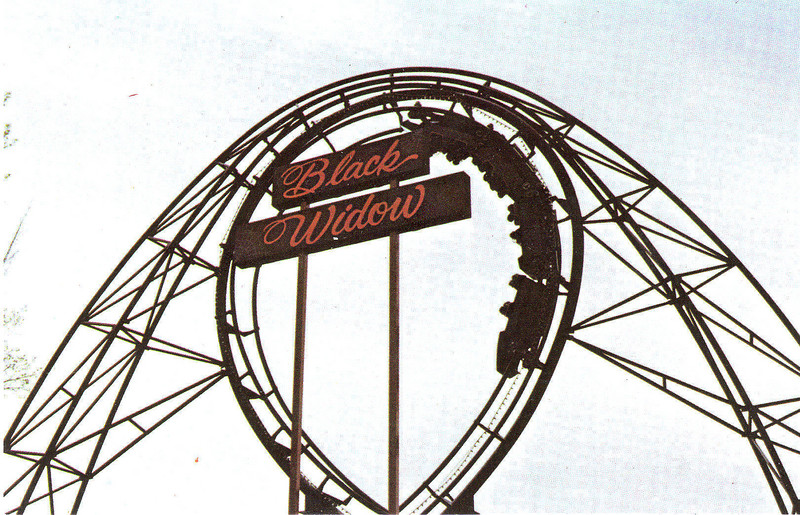 Agawam Riverside Black Widow Coaster