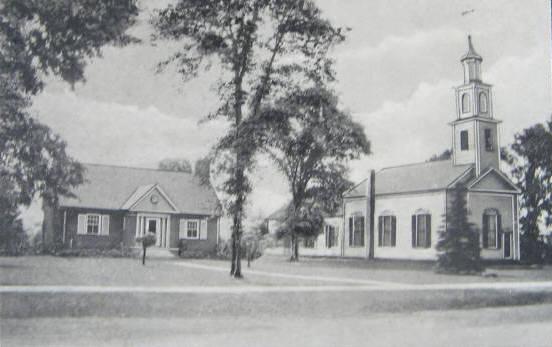 Agawam Davis Library & Cong Church