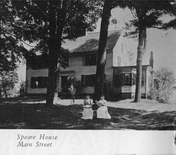 Agawam Speare House Main St