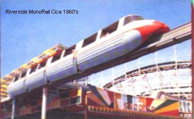 Agawam Riverside Monorail 60s