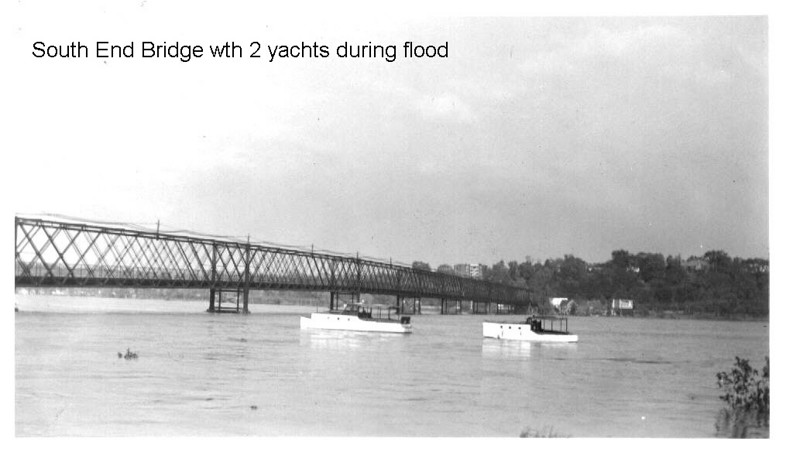 Agawam South End Bridge flood