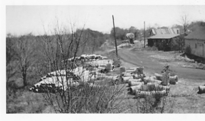 Agawam 1948 Site CNE RR Station