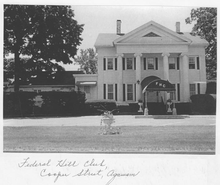 Agawam Federal Hill Club
