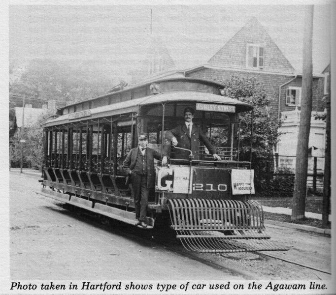 Agawam, Type of Trolley used in town