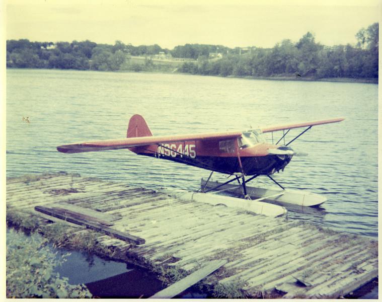 Agawam Plane at Dock