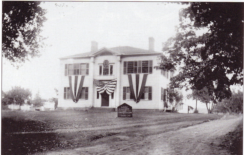 Agawam Dressed Up 4th July 1905