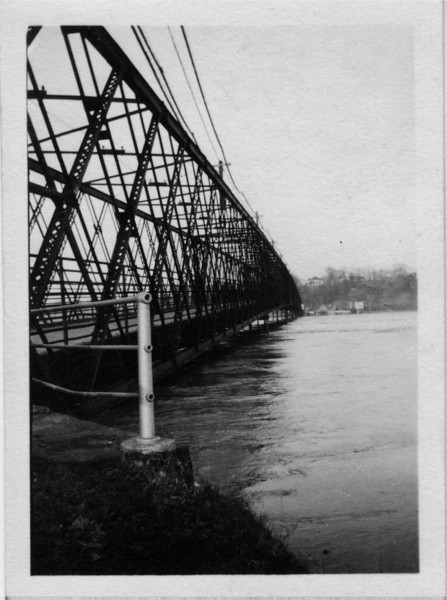 Agawam South End Bridge Downstream Side