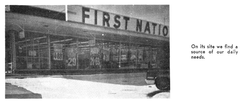 Agawam First National Store