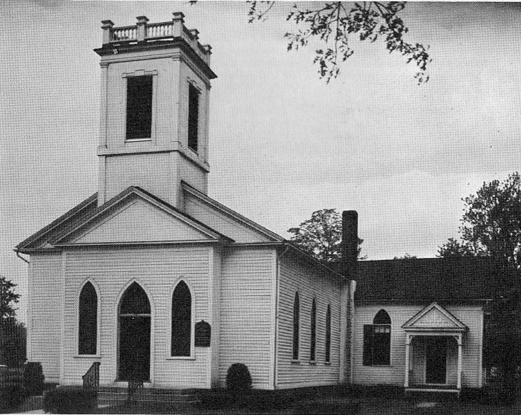 Agawam First Baptist Church 1965