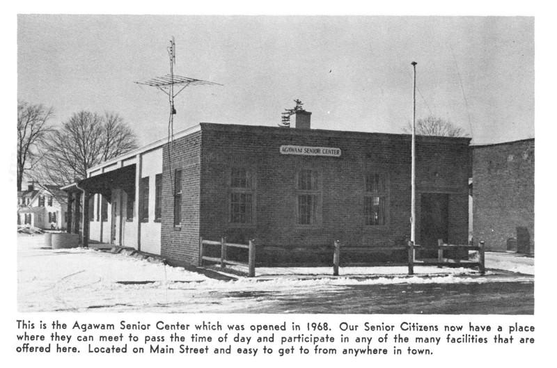 Agawam Senior Center 1968