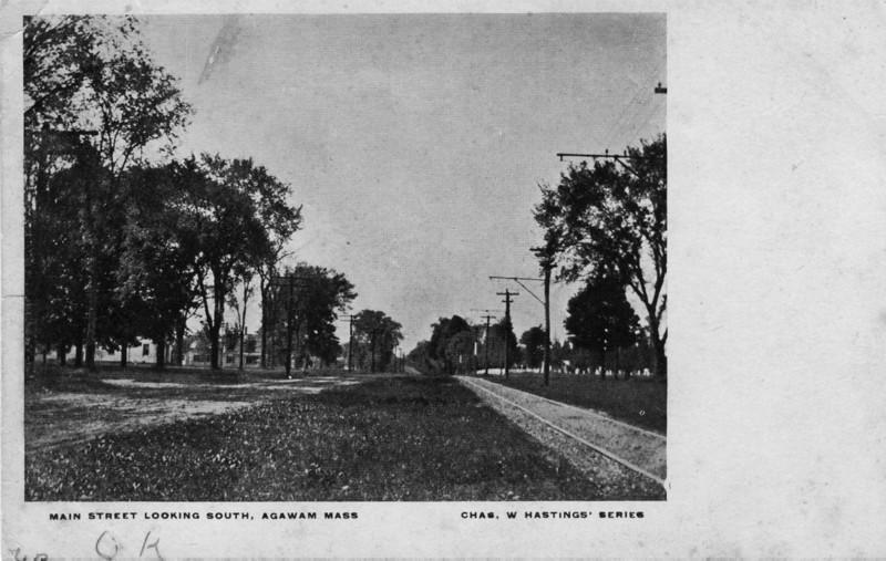Agawam Main Street South 1907