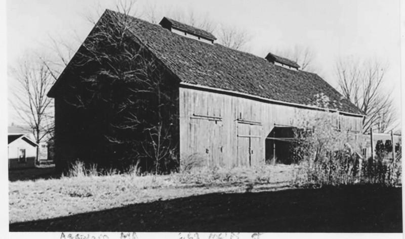 Agawam Barn 663 Main 1937