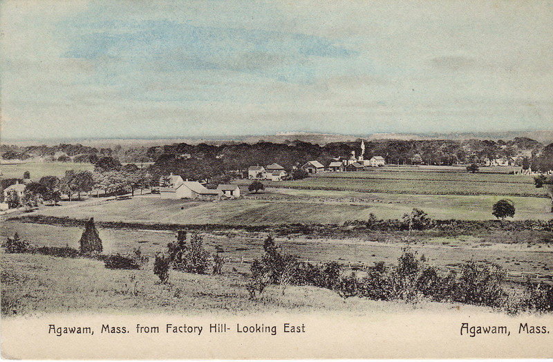 Agawam From Factory Hill Looking E