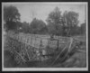 Agawam Foot Bridge across Ag River 1900