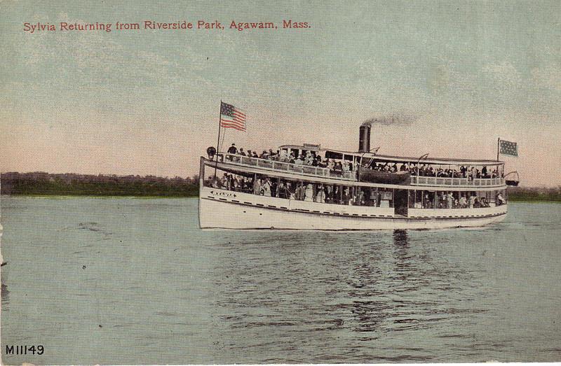 Agawam Passenger Boat Sylvia