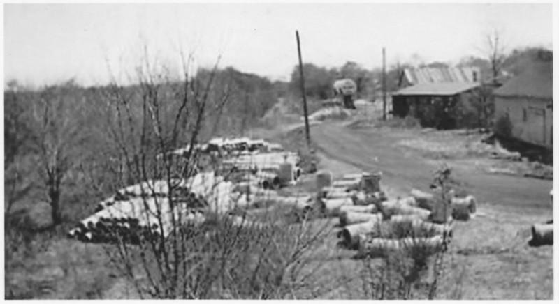Agawaam Site CNE RR Station 1948