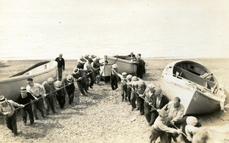 Bristol Bay,1930's,Beach Gang,