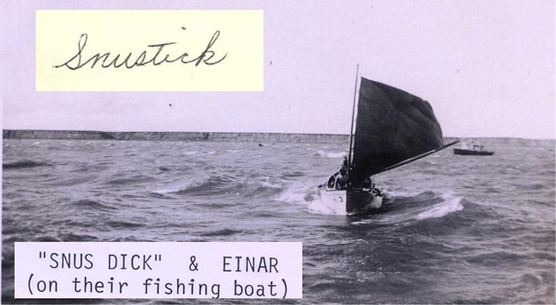 Dick Snustick,Einar Jorgansen,1932, Tough Men,Sail Boats,Bristol Bay,