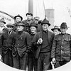 1919 Matt Olsen 3rd from left front  Alaska Bound Bristol Bay
