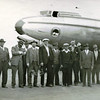 Astoria 1947,First Time Fishermen Flying To Bristol Bay,Far Right Nils Norgaard,