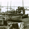 Nakeen Cannery Boats,Kvichak River,1930's Bristol Bay,Graveyard Background,