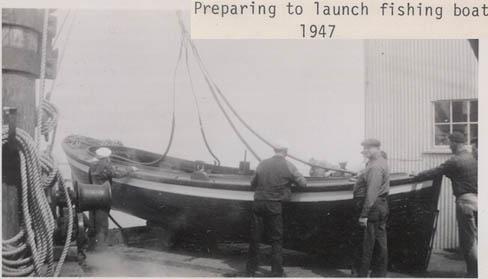 CRPA_1947_cannery_launching_Bristol_Bay_Naknek_sailboats