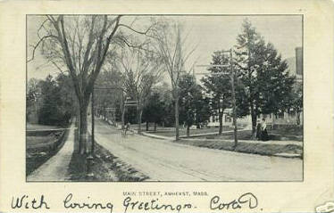 Amherst 1905 View