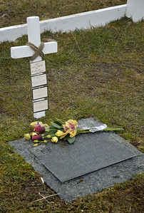 Frank Wild's grave, Grytviken, South Georgia.