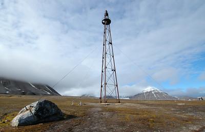 Amundsen Airship Mast, Ny Alesund