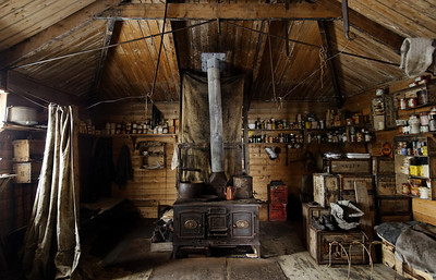 Stove and Living Room, Cape Royds Hut