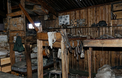Oates' Bunk and Equipment, Cape Evans Hut