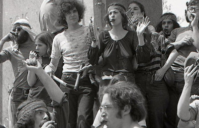 Kazoo band. Anti-war demonstration, Washington DC, May 9, 1970.