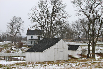 February 1, 2013. Joseph Poffenberger Farm. Antietam Battlefield. Sharpburg, MD.