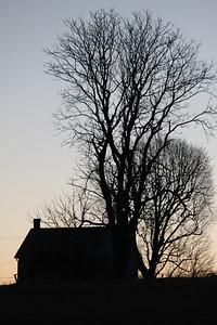 Silhouettes. Antietam Battlefield. Sharpsburg, MD