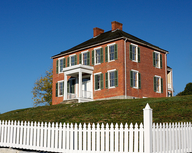 Pry House was used as a field hospital during the battle for Antietam.