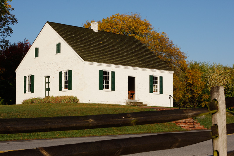 Dunker Church played a large roll at the battle for Antietam.