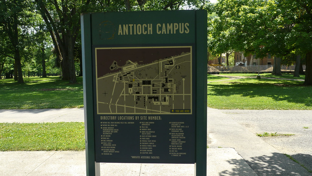 Antioch College and Yellow Springs, May, 2012