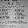 WANT ADS - HARVEY TRIBUNE 1966<br /> One could get a job easily in Harvey and the area in these boom years.