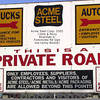 ACME STEEL - RIVERDALE, IL  - SIGN