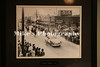Downtown McGehee, Arkansas 1948 photograph hanging in the Deshea County Courthouse.