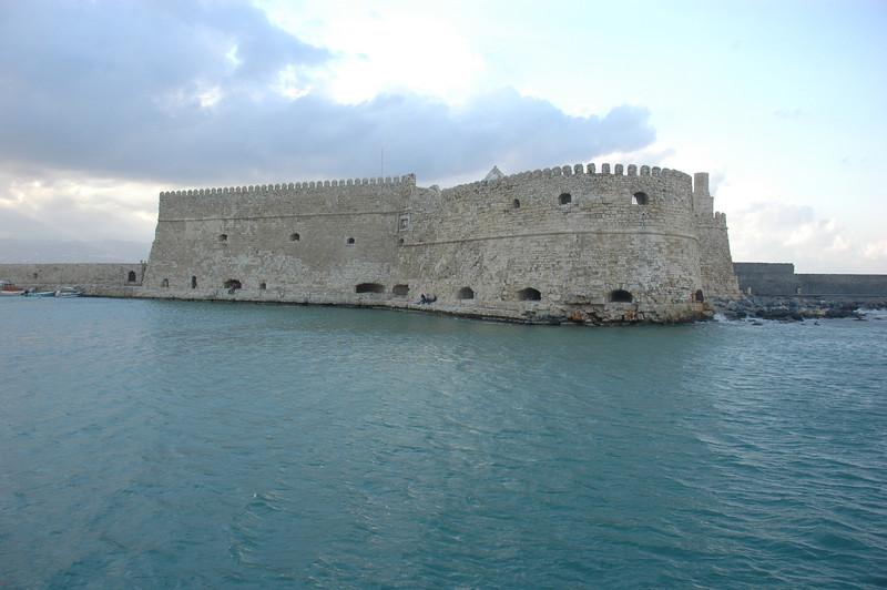 The Venetian Fortress in Iraklion, Crete