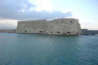 The Venetian Fortress in Iraklion, Crete