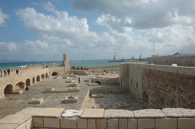 Upper ramparts of the Venetian Fortress.