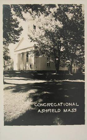 Ashfield Conggregational Church