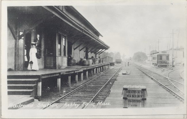Ashley Falls Depot