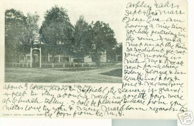 Ashley Falls Maplewood Inn 1910