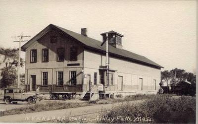 Ashley Falls MA RR