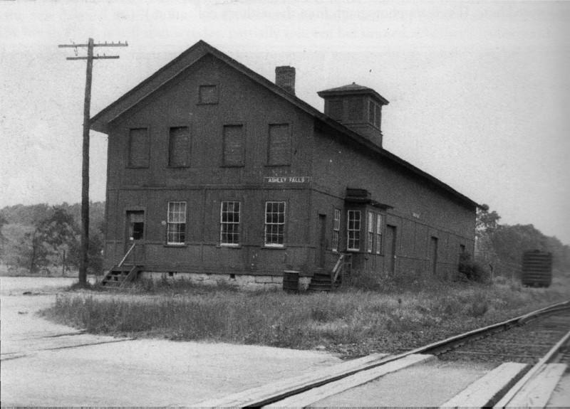 Ashley Falls Train Station