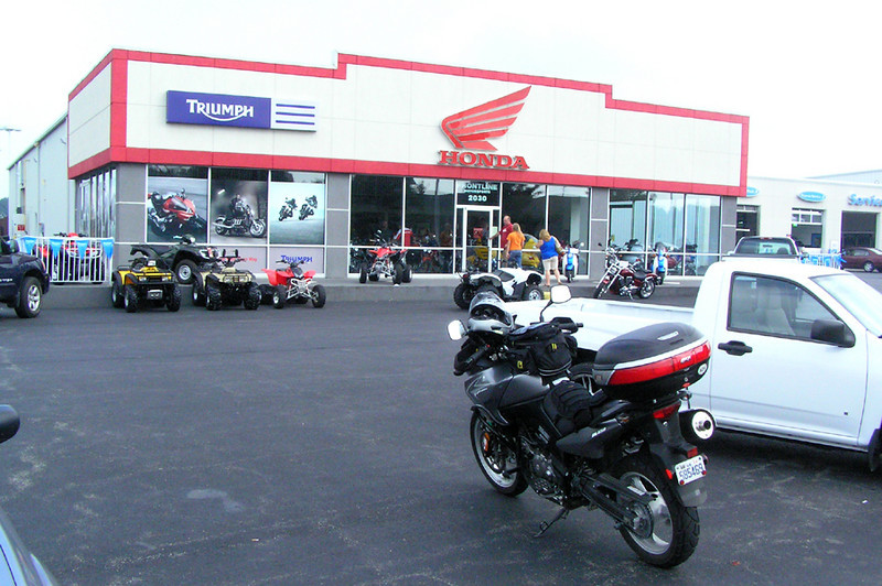 Frontline Motorsports Christiansburg - Triumph Dealer.