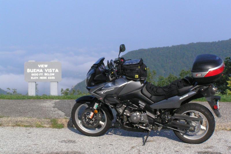 At Buena Vista Overlook on Blue Ridge Parkway